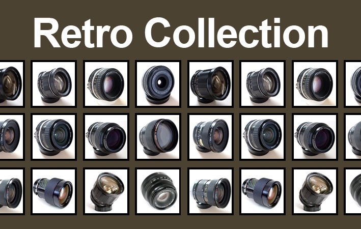 Retro, Classic and Vintage Lens Collection