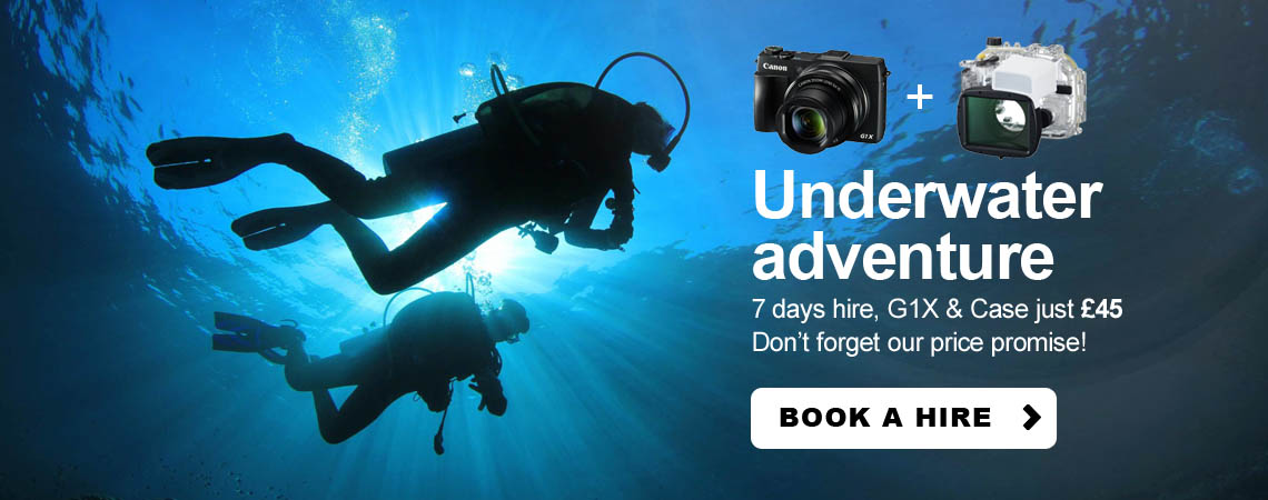 Canon g1x and underwater housing