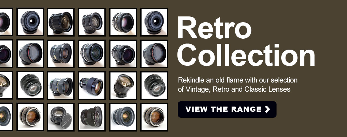 Retro Classic and Vitage Lens collection