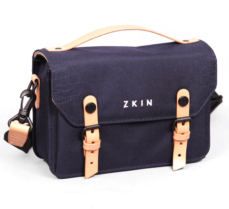 ZKIN Hydra Camera / DJI Spark Drone / Bike Bag - Marine Blue