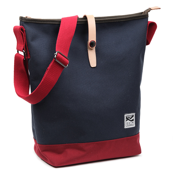 ZKIN Obia Camera Tote Bag - Beige Navy