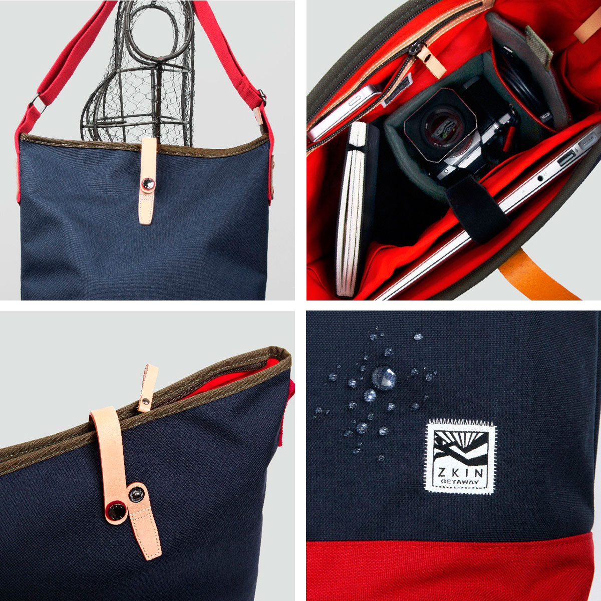 Obia Camera Tote Bag