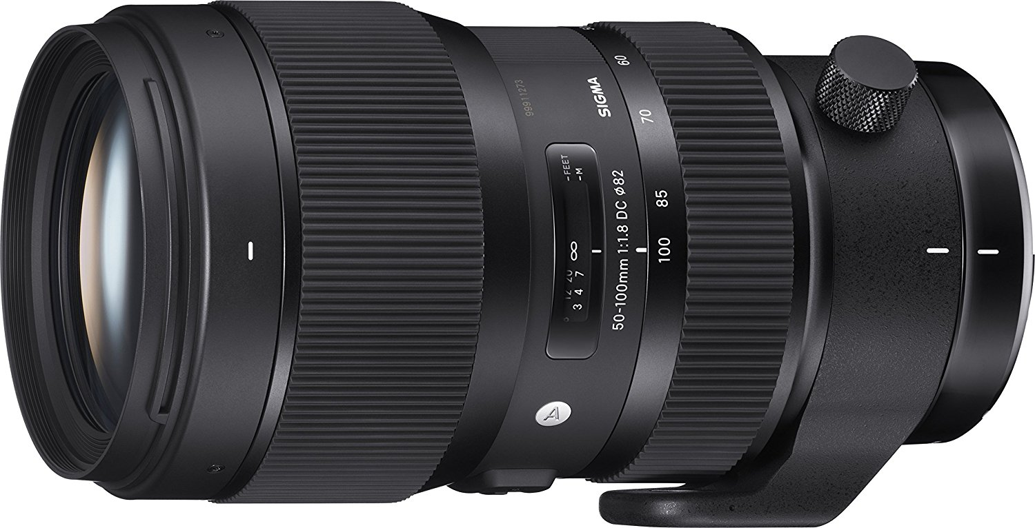 Sigma 50-100mm f1.8 DC HSM Art Lens - Canon fit