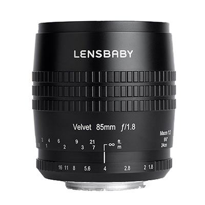 Lensbaby Velvet 85 - Micro Four Thirds fit