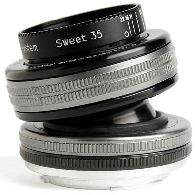 Lensbaby Composer Pro II with Sweet 35 Optic - Canon Fit