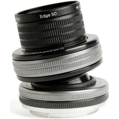 Lensbaby Composer Pro II + Edge 50 - Micro Four Thirds Fit
