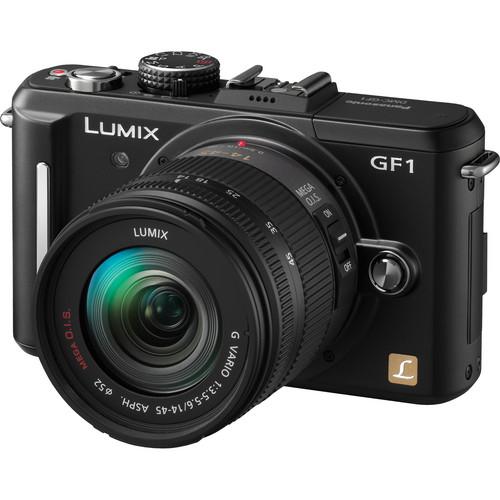 Lens Lab: Panasonic Lumix DMC-GF1 Digital Camera with 14-45mm f/3 5-5