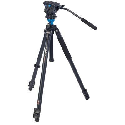 Benro A2573F Video Tripod Kit with S4 Head