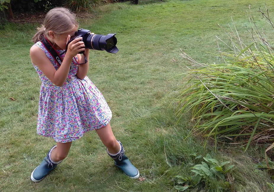Kids can be pretty good at photography... with a little guidance!